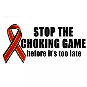 Choking Game Ribbon